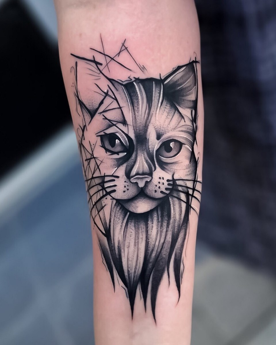 Michał Filipowski Biały Kruk Tattoo