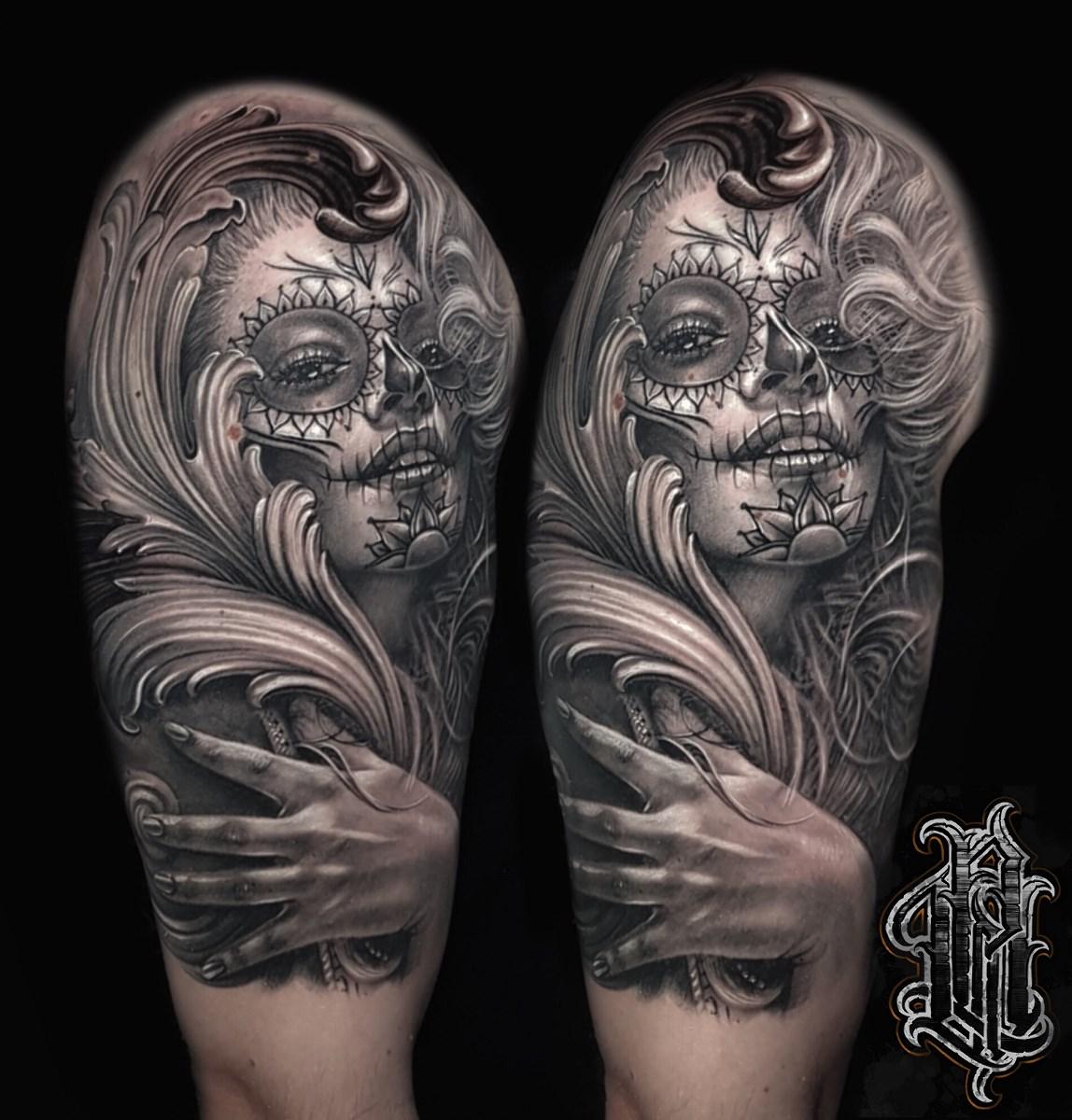 Primo Walasek Biały Kruk Tattoo